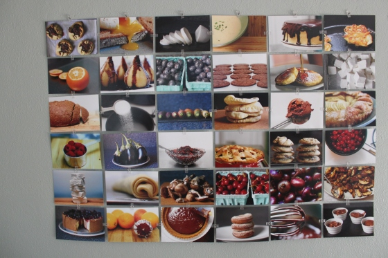Food photography collage.  It's so dreamy.