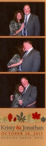 Doug & Sarah photo booth