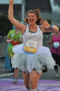 I ran the Enchanted 10K...