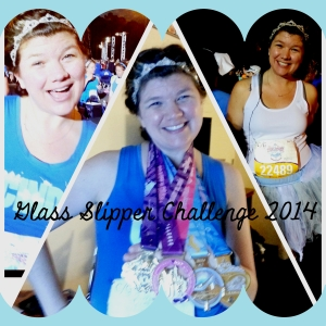 Culminating in completion of the Glass Slipper Challenge AND the coveted Coast to Coast medal.