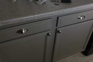 I have drawer pulls!