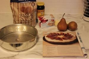 Cheesecake prep!