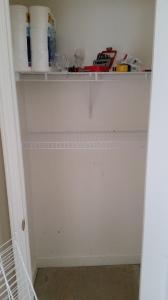 Shelf one done!